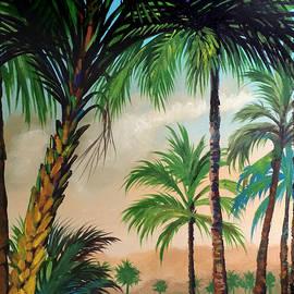 Tropical Landscape by Robert Korhonen