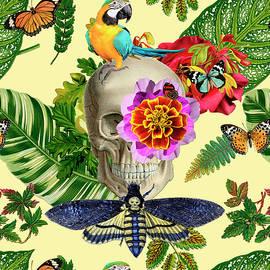 Tropical Skull by Gloria Sanchez