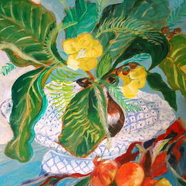 Jane Gatward - Tropical Still Life
