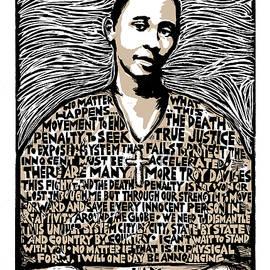 Troy Davis by Ricardo Levins Morales