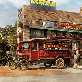 Truck - Delivery - Haas has it 1924 by Mike Savad