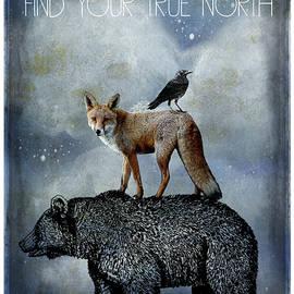 True North Bear Fox And  Crow by Sandra McGinley