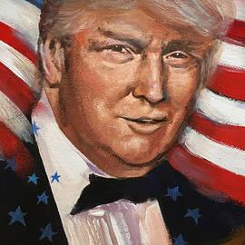Trump Stars and Stripes by Robert Korhonen