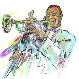 Louis Armstrong by Mark Tonelli