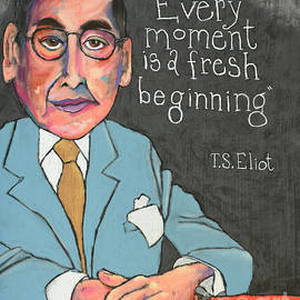 T.S. Eliot by David Hinds