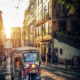 Tuk-Tuk in Lisbon by Carlos Caetano