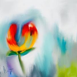 Frank Bright - Tulip Abstract