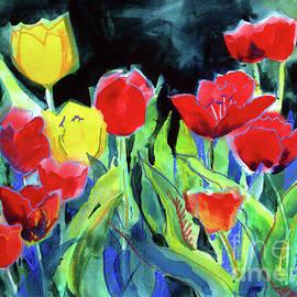 Kathy Braud - Tulip Bed at Dark
