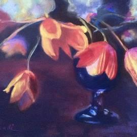 Tulip Still Life by Janet Biondi