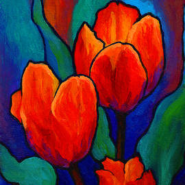 Tulip Trio by Marion Rose