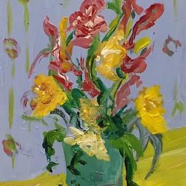 Tulips by Alida M Haslett