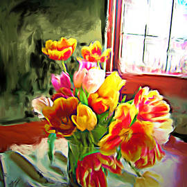 Carla G Art Nitkey - Tulips