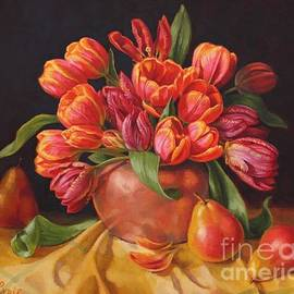 Fiona Craig - Tulips in Copper Kettle