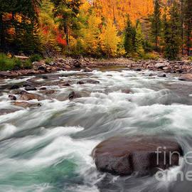 Tumwater Canyon Autumn - Mike Dawson