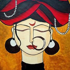 Madhavi Sandur - Turban lady