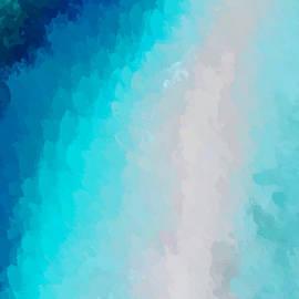 Anthony Fishburne - Turquoise and Blue