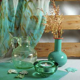 Turquoise Compassion by Randi Grace Nilsberg