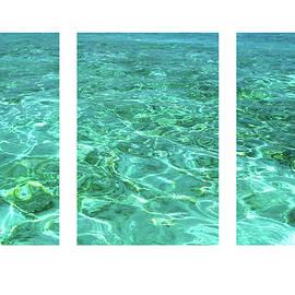 Jenny Rainbow - Turquoise Temptation Triptych