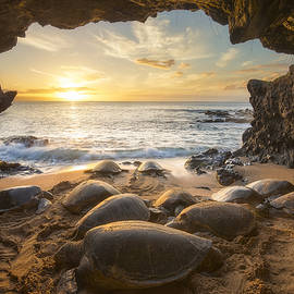 Hawaii Fine Art Photography - Turtle Cave