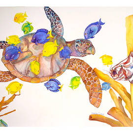 Brenda Tucker - Turtle Cleaning Station