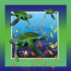 Turtle Tripping by Jack Potter