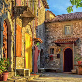 Tuscan Villa Early Morning by Dominic Piperata