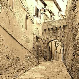 Tuscany Again in Sepia by Slawek Aniol