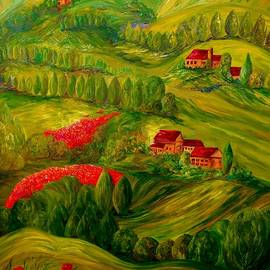 Tuscany at Dawn by Eloise Schneider Mote