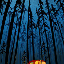 Twilight Camping by Sassan Filsoof