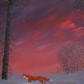 Twilight Fox by Philip Harvey