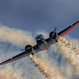 Twin Beech 18 by Susan Rissi Tregoning