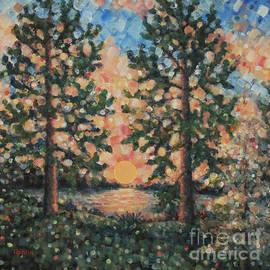 Jim Rehlin - Twin Pines / Lake Martha Sunset