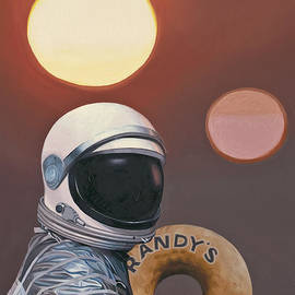 Twin Suns And Donuts by Scott Listfield