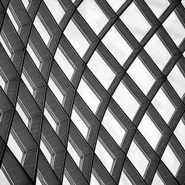 Twisted Squares Abstract by Kevin Anderson