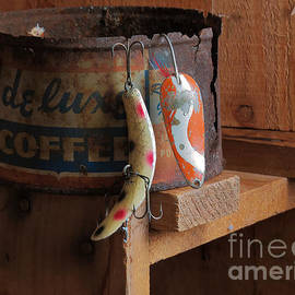 Sandra Church - Fishing Lure On A Can