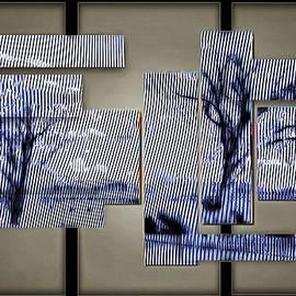 Mario Carini - Two Bare Trees in Winter