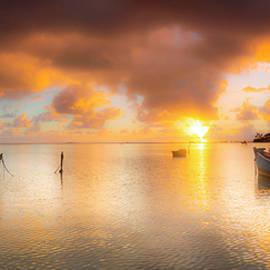 Sean Davey - Two Boat Sunrise