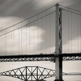 Two Bridges by Dave Bowman