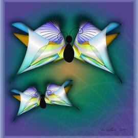 Iris Gelbart - Two Butterflies