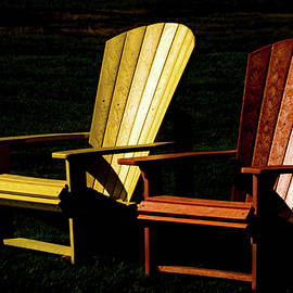 Two Chairs by Julie Palencia