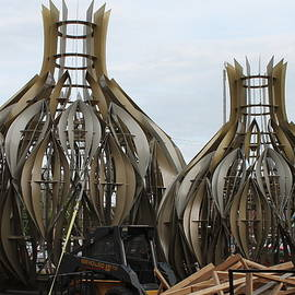 Wayne Williams - Two Domes For Corn Palace