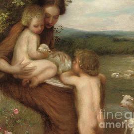 Two Mothers  - William Edward Stott