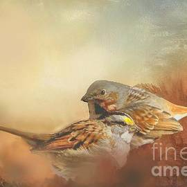 Janette Boyd - Sparrows in the Marsh 2