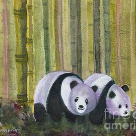 Sue Carmony - Two Strolling Pandas