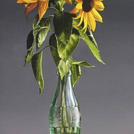 Two Sunflowers - Larry Preston