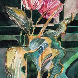 Two Tulips by Mindy Newman