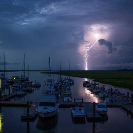 Reid Callaway - Tybee Island Lightning Savannah Georgia