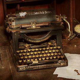 Mike Savad - Typewriter - My bosses office