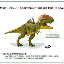 Tyrannosaurus Rump by Bonnie Follett