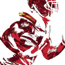 Joe Hamilton - Tyreek Hill KANSAS CITY CHIEFS PIXEL ART 1